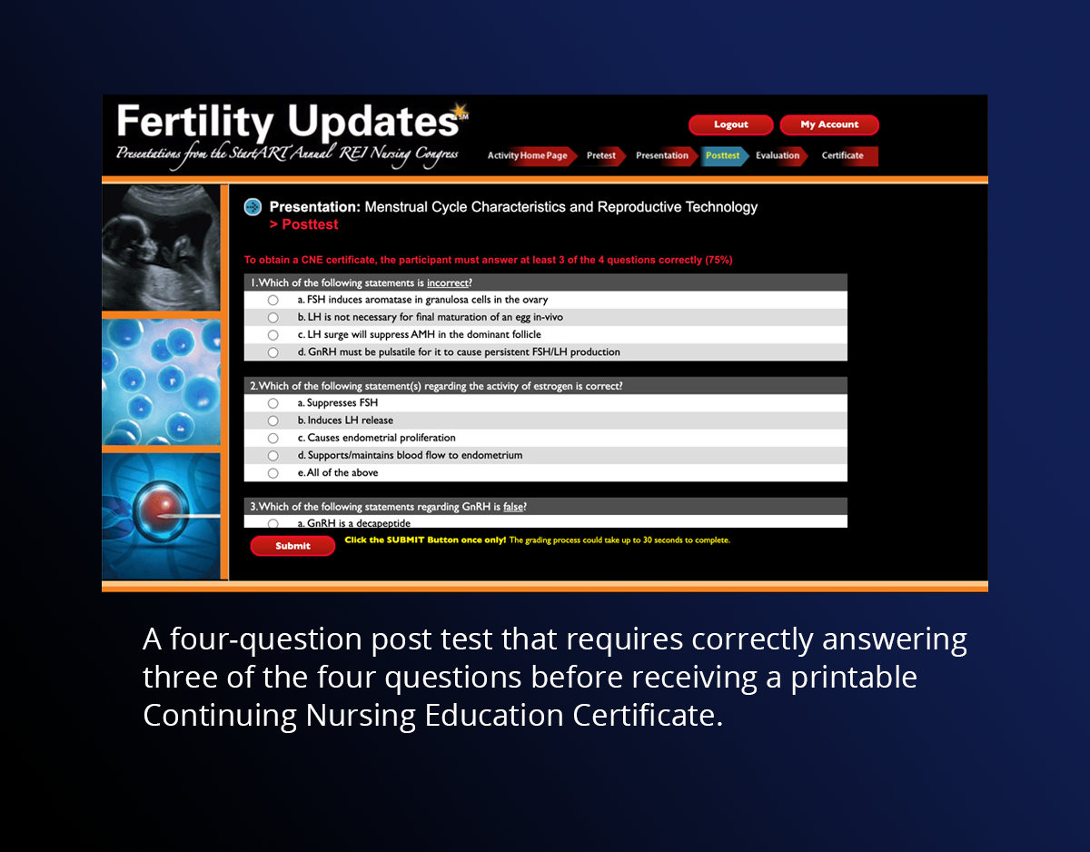 Fertility Updates Post Test
